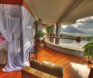 bedroom, pool, and luxury image