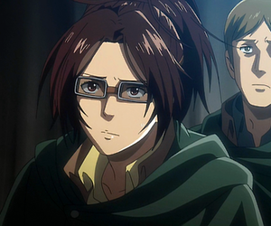 shingeki no kyojin, hanji zoé, and attack on titans image