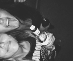 alcohol, crazy, and girls image