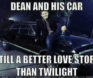 supernatural, impala, and twilight image