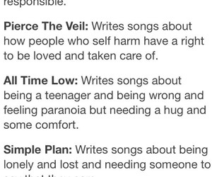 all time low, pierce the veil, and simple plan image