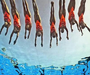 passion, synchro, and plongeon image