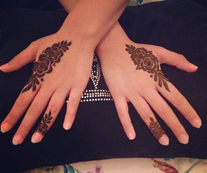 design, gulf, and henna image