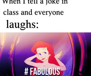 ariel, fabulous, and funny image