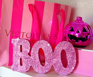 pink, boo, and girly image