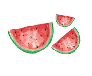 fruit, melon, and watermelon image