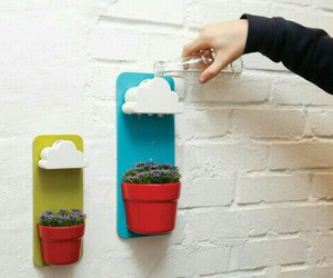plants, diy, and clouds image