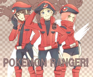 naruto, anime, and pokemon image