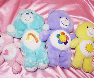 carebears, 90's, and cute image