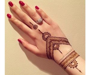 arabian, black, and henna image