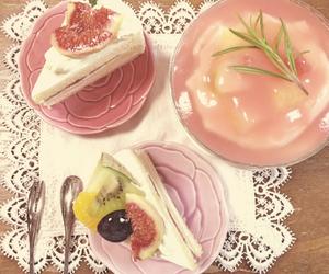 kawaii, cake, and FRUiTS image
