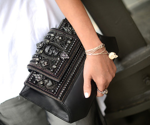 fashion, bag, and skull image