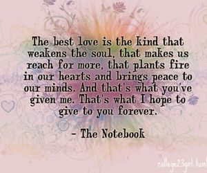 movie, love, and notebook image