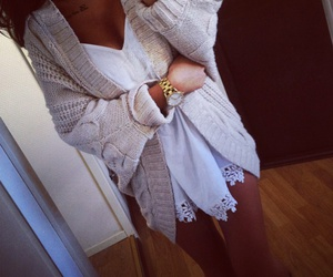 beautiful, outfit, and watch image