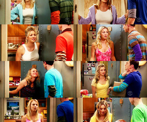 penny, tbbt, and sheldon cooper image