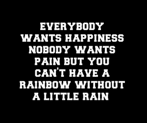 pain, quote, and rainbow image