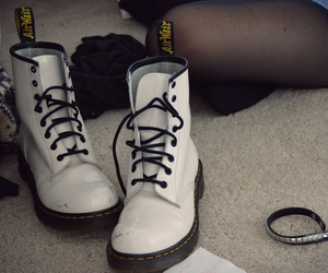 boots, grunge, and white image