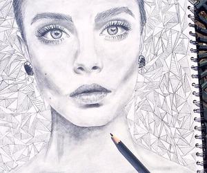 art, cara, and draw image