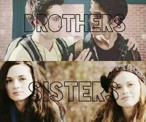 teen wolf, brothers, and sisters image