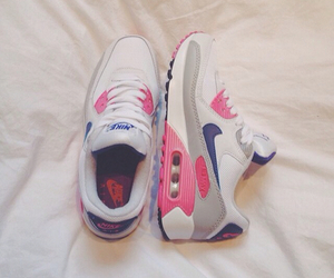 shoes, nike, and pink image