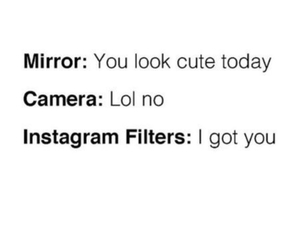 instagram, camera, and mirror image