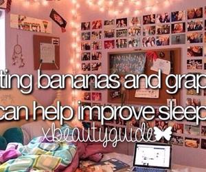banana, food, and grapes image