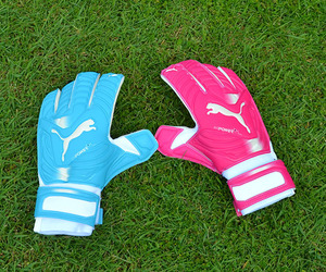 gloves, puma, and soccer image