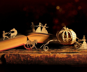 book, cinderella, and fairytale image