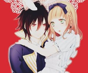 anime, heroine, and shin image