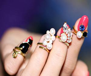 fashion, jewelry, and nails image