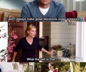 funny, Adult, and modern family image