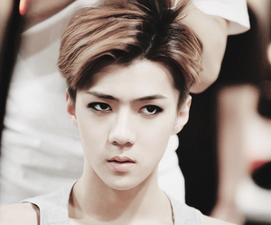 sehun, exo, and exo-k image