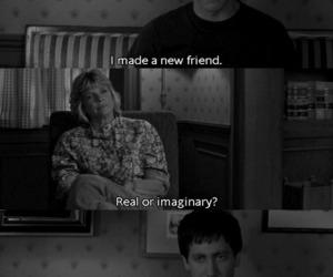 friends, donnie darko, and imaginary image