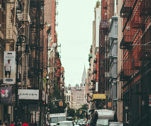 new york, vintage, and city image