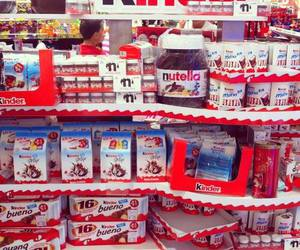 kinder, nutella, and chocolate image