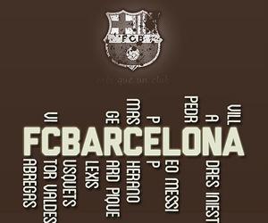 Barcelona and fcb image