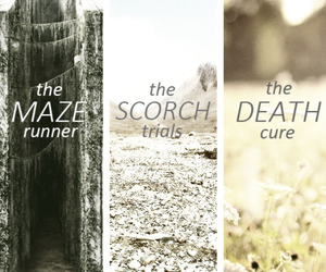 the maze runner, the scorch trials, and the death cure image