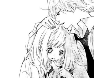 love, couple, and manga image