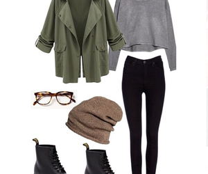 autumn, outfit, and cool image