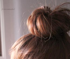beauty, bun, and fab image