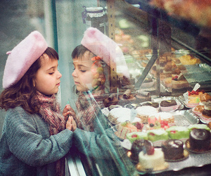 girl, cake, and child image