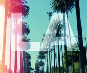 la, los angeles, and summer image