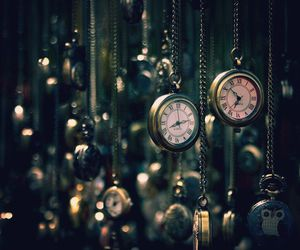 clock, time, and watch image
