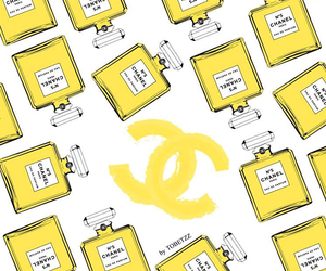 chanel, wallpaper, and yellow image