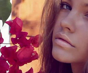 barbara palvin, flowers, and model image