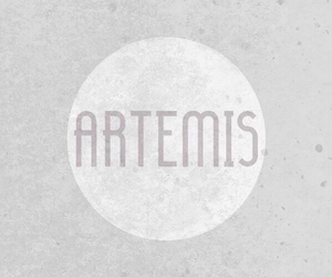 artemis, mythology, and percy jackson image