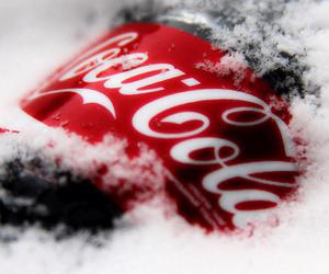 coca cola and snow image