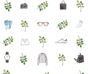 background, draw, and fashion image