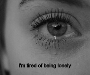 bad, black and white, and cry image