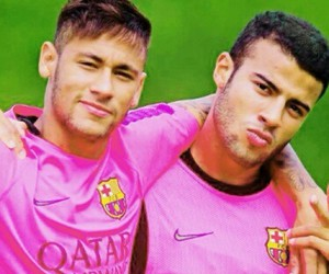 neymar, rafinha, and neymar jr image